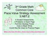 Place Value Strategy - 3.NBT.2 Common Core Assessments (Number Talks)