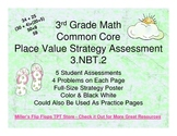 Place Value Strategy - 3.NBT.2 Common Core Assessments (Nu