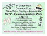 Place Value Strategy - 3.NBT.2 Common Core Assessments Part 2 (Number Talks)