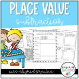Place Value Subtraction Practice Pack