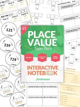 Place Value Worksheet Super Pack