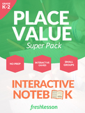 Place Value Worksheet Super Pack