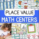 Place Value Games and Math Centers BUNDLE