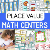 Place Value Games and Math Centers BUNDLE