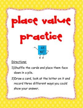 Place Value (TEK 3.1A) Games (x2)