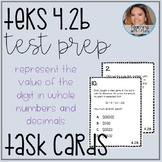 Place Value TEKS 4.2B Task Cards