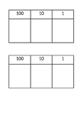 Place Value Table A5