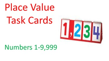 Place Value Task Card 1-9,999