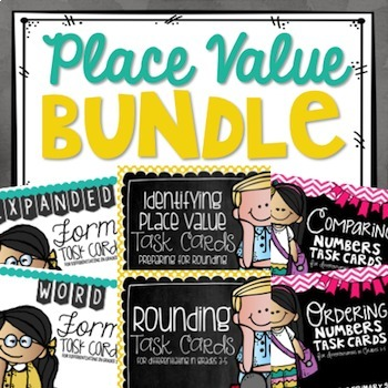 Place Value Task Card BUNDLE!