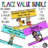 Place Value Task Card Bundle SOL 3.1a, SOL 3.1b, SOL 3.1c