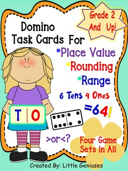 Place Value Task Card Games are Hands-On Fun!