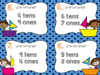 Math Task Cards (Place Value)