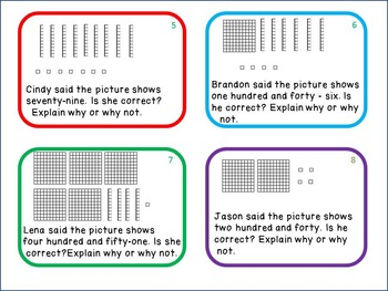 Place Value 2nd Grade: Write a Constructed Response