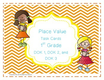 Place Value Task Cards-1st Grade