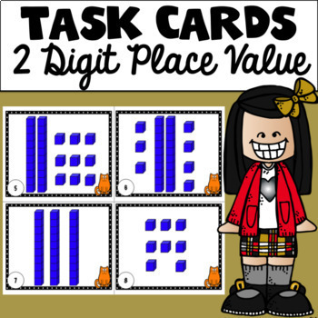 Place Value Task Cards (2 Digit)