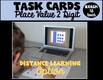Place Value Task Cards (2 Digit)