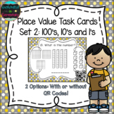 Place Value Task Cards 2: Hundreds Tens & Ones: 2nd Gr CC: