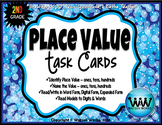Place Value Task Cards - 2nd Grade
