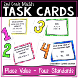 Place Value Task Cards (2nd Grade Place Value Activities a