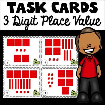 Place Value Task Cards (3 Digit)