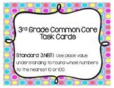 Place Value Task Cards 3.NBT.1 Common Core