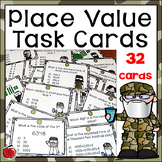 Place Value Activity Task Cards - Duck Dynasty