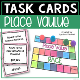 Place Value Task Cards for 4th Grade Common Core Classroom