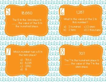Place Value Task Cards 5.NBT.1