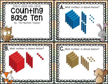 Place Value Task Cards - 8 Sets