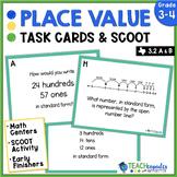 Place Value Task Card - TEKs 3.2A 3.2B