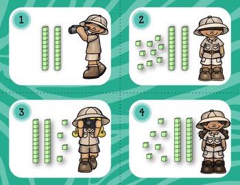 Place Value Task Cards BUNDLE 1-100