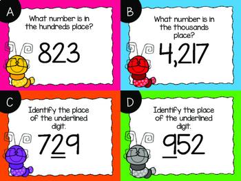 Place Value Task Cards BUNDLE {Digital}