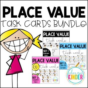 Place Value Task Cards BUNDLED