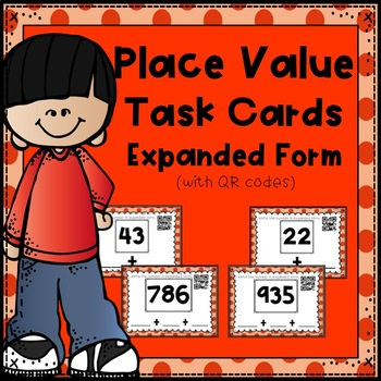 Place Value Task Cards:  Expanded Form