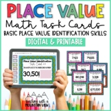 Place Value Task Cards  { Basic Place Value Identification }