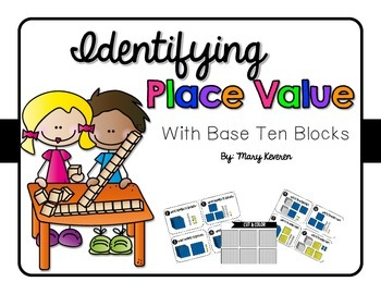 Place Value Task Cards & Color Cards