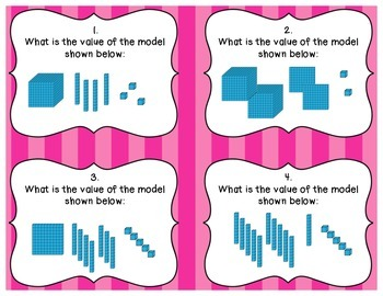 Place Value Task Cards: Composing and Decomposing to the Hundred Thousand