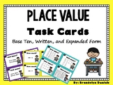 Place Value Task Cards- Double Digit Numbers