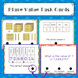 PLACE VALUE  Magic Task Cards  Flash Cards: Word Problems etc