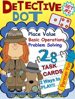 Place Value Task Cards For Problem Solving