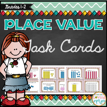 Tens and Ones - Place Value Task Cards
