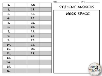 Place Value Task Cards - Hundreds, Tens & Ones