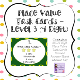 Place Value Task Cards - Level 3 (4 Digits)