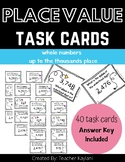 Place Value Task Cards | Math Task Cards