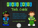 Place Value Task Cards (Math Workshop)