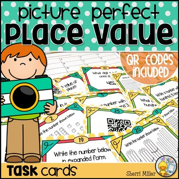 Place Value Task Cards (Ones, Tens, Hundreds)