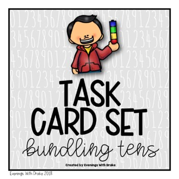 Place Value (Bundles of Tens) Task Cards