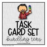 Place Value (Bundling Tens) Task Card Set