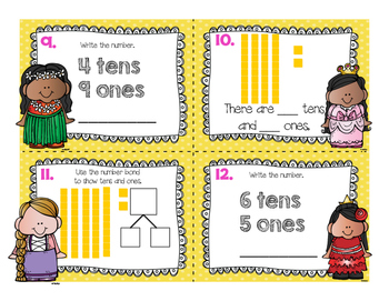 {FREE} Place Value Task Cards (Princess Themed)