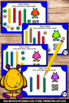 QR Codes Math Place Value Task Cards, Tens and Ones, Kindergarten Math Review